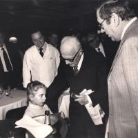 Sandro Pertini al Gatto Nero 1981