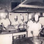 Brigata di cuicina del Gatto Nero vecchio 1955