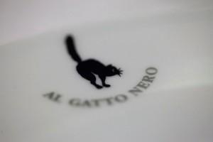 Gattino sul piatto