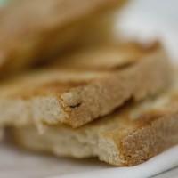 Pane toscano grigliato